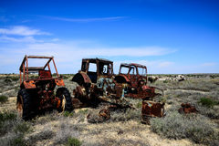 Rusty tractor Royalty Free Stock Photography