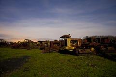 Rusty tractors Stock Photos