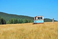 Rusty trailer Stock Photos