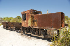 Rusty Train Stock Photography