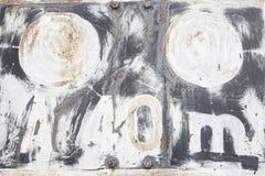Rusty Train Signal Immagini Stock Libere da Diritti