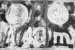 Rusty Train Signal Fotografie Stock Libere da Diritti