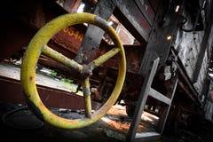 Rusty train wagon details Royalty Free Stock Image