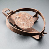 Rusty trap Stock Photography