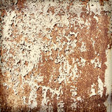 Rusty trash background Stock Images