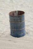 Rusty Trashcan Fotografía de archivo
