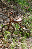 Rusty tricycle Royalty Free Stock Image