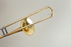 Rusty Trombone Stock Photo