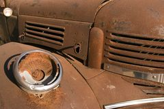Rusty Truck Royalty Free Stock Photo