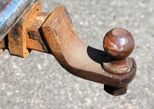 Rusty Truck Hitch Royalty Free Stock Photography