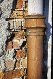 Rusty tube Stock Images