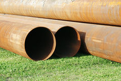 Rusty tubes Royalty Free Stock Photo