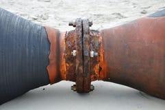 Rusty tubulação Royalty Free Stock Photos