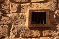Rusty ventilation grid. Royalty Free Stock Photos