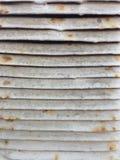 Rusty Ventilation Shaft Close Up anziano Immagini Stock