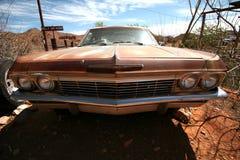 Rusty vintage american car Stock Image