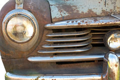 Rusty vintage car Stock Images