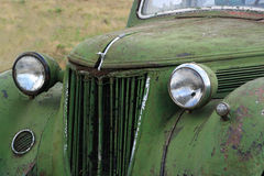 Rusty vintage car Royalty Free Stock Image