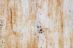 Rusty vintage metallic  yellow green vertical background Royalty Free Stock Image