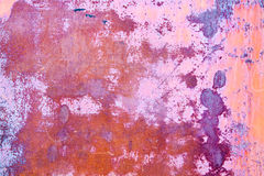 Rusty vintage orange purple metallic background Royalty Free Stock Image