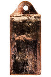 Rusty vintage stove damper Stock Images