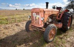Rusty Vintage Tractor Royalty Free Stock Photos