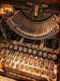 Rusty Vintage Typewriter photos libres de droits
