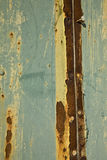 Rusty Wall. Detail close up of a rusty wall Royalty Free Stock Photo