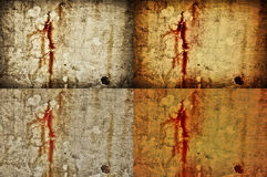 Rusty wall background Royalty Free Stock Images