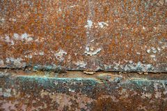 Rusty wall background image royalty free stock photo