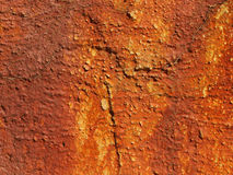 Rusty wall,detail Stock Images