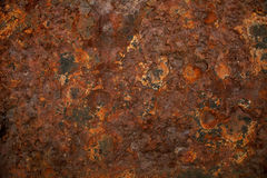 Rusty wall, natural weathered, background Stock Photo