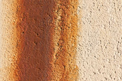 Rusty wall texture Stock Image