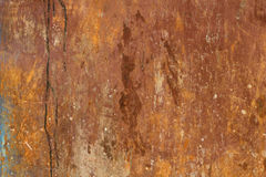Rusty wall texture Stock Photo