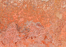 Rusty Wall Texture. Stock Images