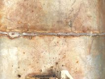 Rusty wall texture Stock Photos