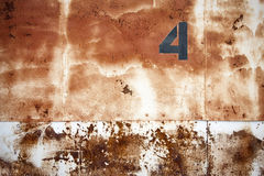 Rusty warehouse doors Stock Photos
