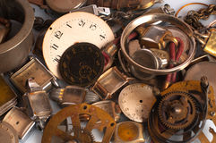 Rusty Watch Parts Royalty Free Stock Images