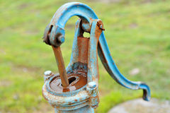 Rusty water pump Royalty Free Stock Image