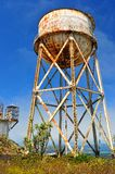 Rusty water tank tower Royalty Free Stock Photography