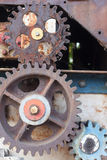 Rusty weathered cogs Royalty Free Stock Photos