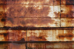Rusty wet metall surface Royalty Free Stock Images