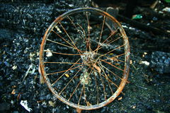 Rusty wheel Royalty Free Stock Image