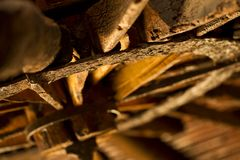 Rusty wheel Stock Photos