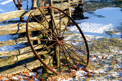 Free Rusty Wheel Stock Images - 273364