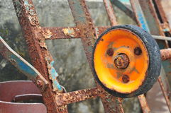 Rusty wheel Royalty Free Stock Photo