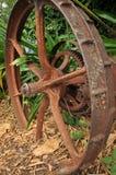 Rusty wheel Stock Images