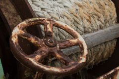 Rusty wheel Stock Image