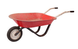 Rusty  Wheelbarrow Stock Photos
