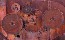 Rusty wheels Royalty Free Stock Photo